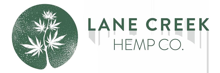 Lane Creek Hemp Company Logo and Text