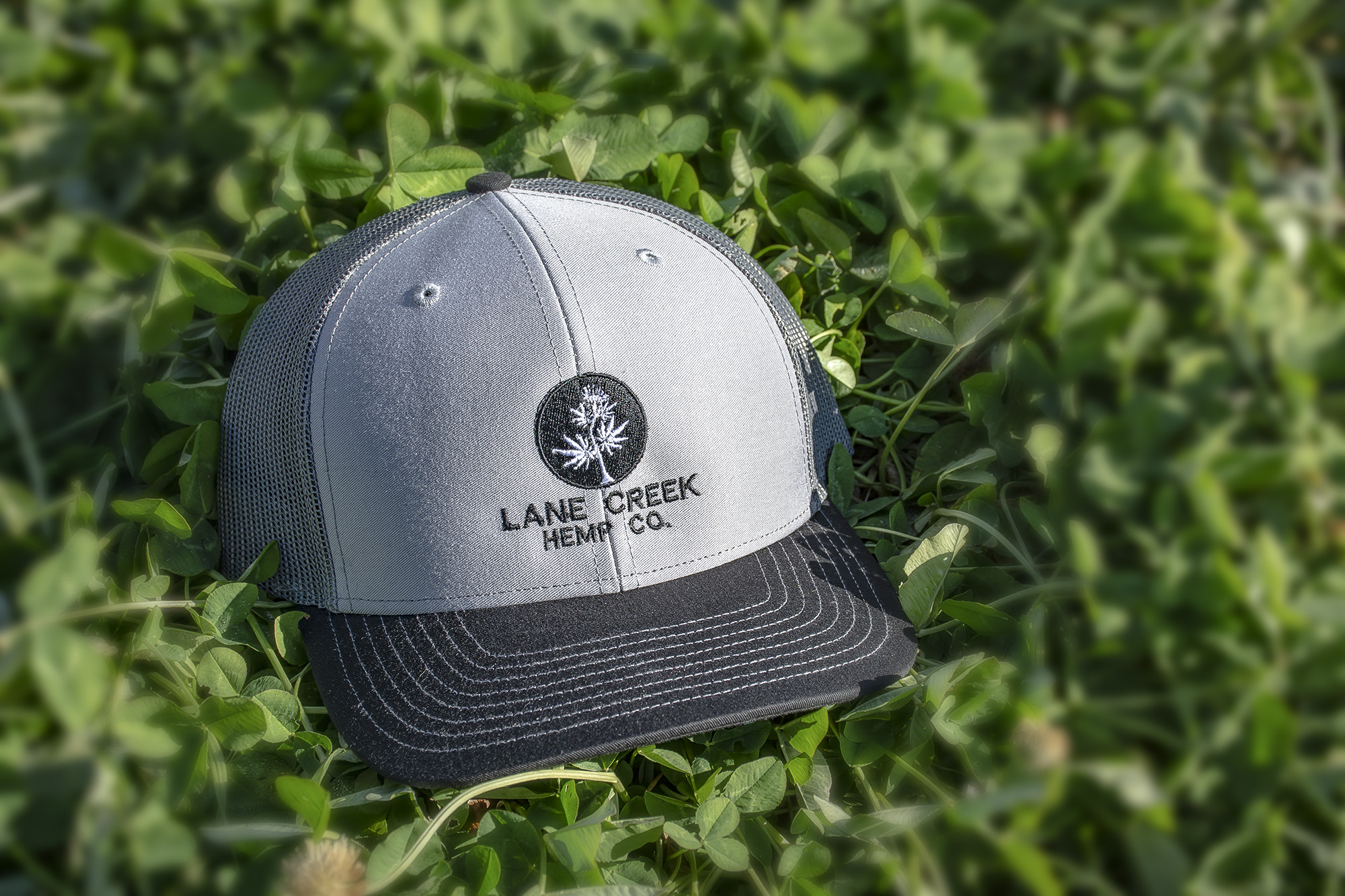 Lane Creek Hemp Co Carbon Trucker Hat
