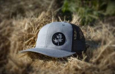 Lane Creek Hemp Co Foliar Trucker Hat