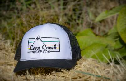 Lane Creek Hemp Co Rain Cloud Trucker Hat
