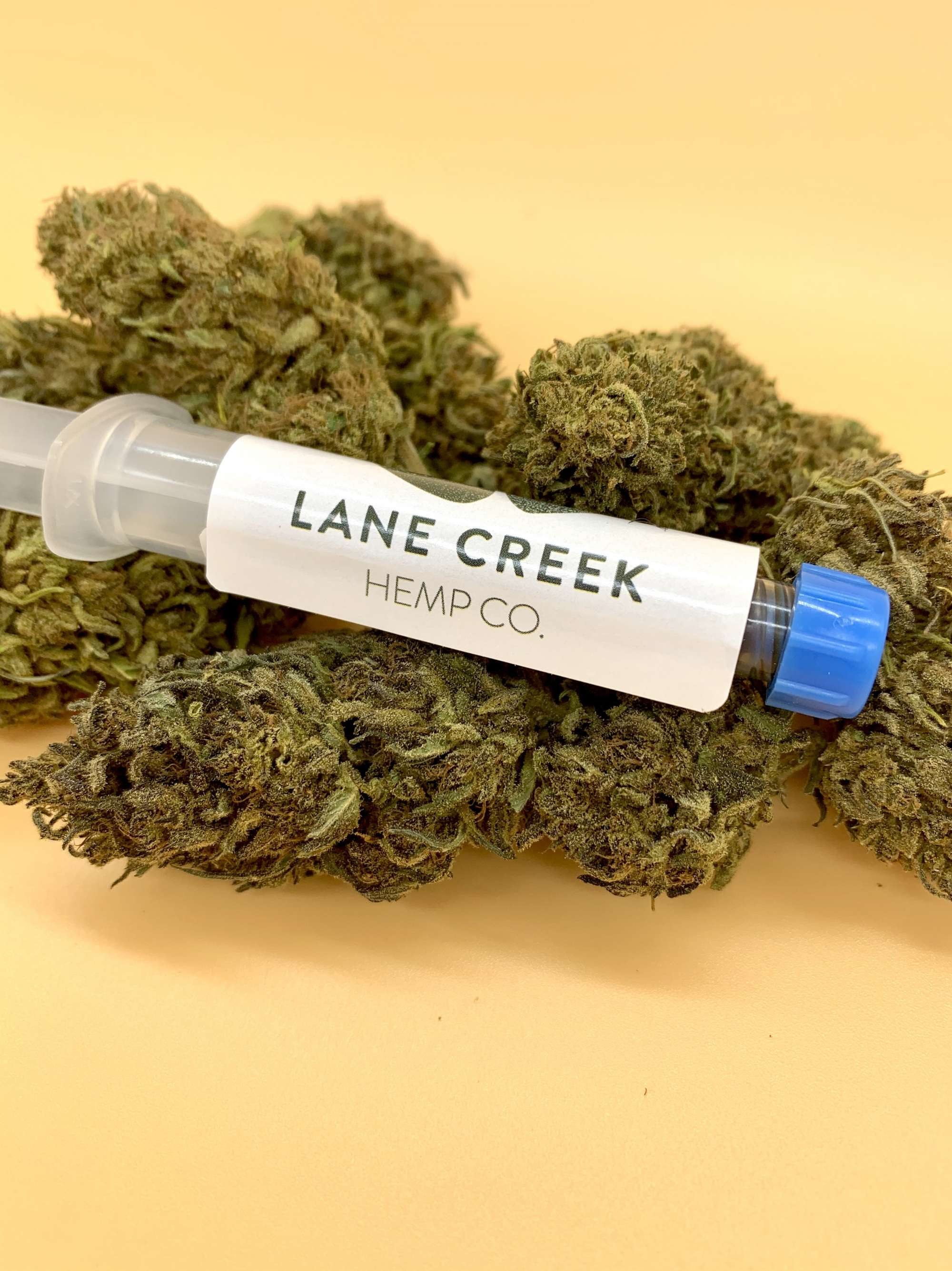 Crude 5mg/cc Syringe Lane Creek Hemp Co